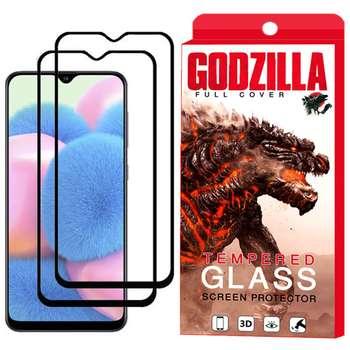 محافظ صفحه نمایش گودزیلا مدل GGF مناسب برای گوشی موبایل سامسونگ Galaxy A30s بسته 2 عددی