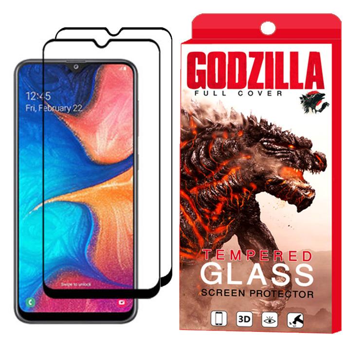 محافظ صفحه نمایش گودزیلا مدل GGF مناسب برای گوشی موبایل سامسونگ Galaxy A30 بسته 2 عددی