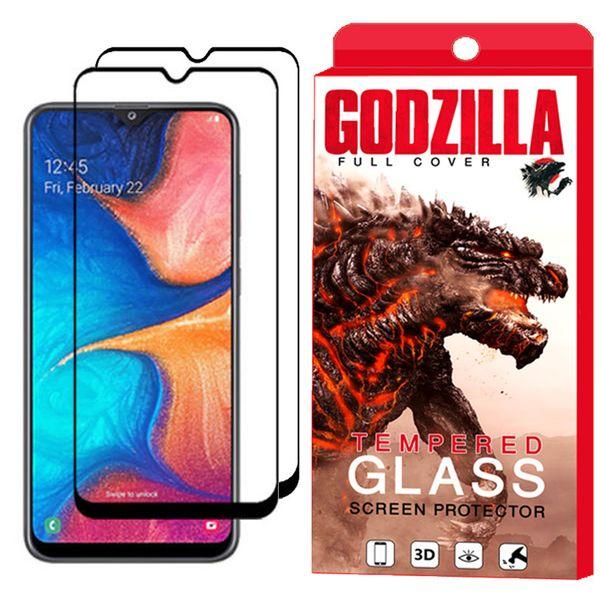 محافظ صفحه نمایش گودزیلا مدل GGF مناسب برای گوشی موبایل سامسونگ Galaxy A50 بسته 2 عددی