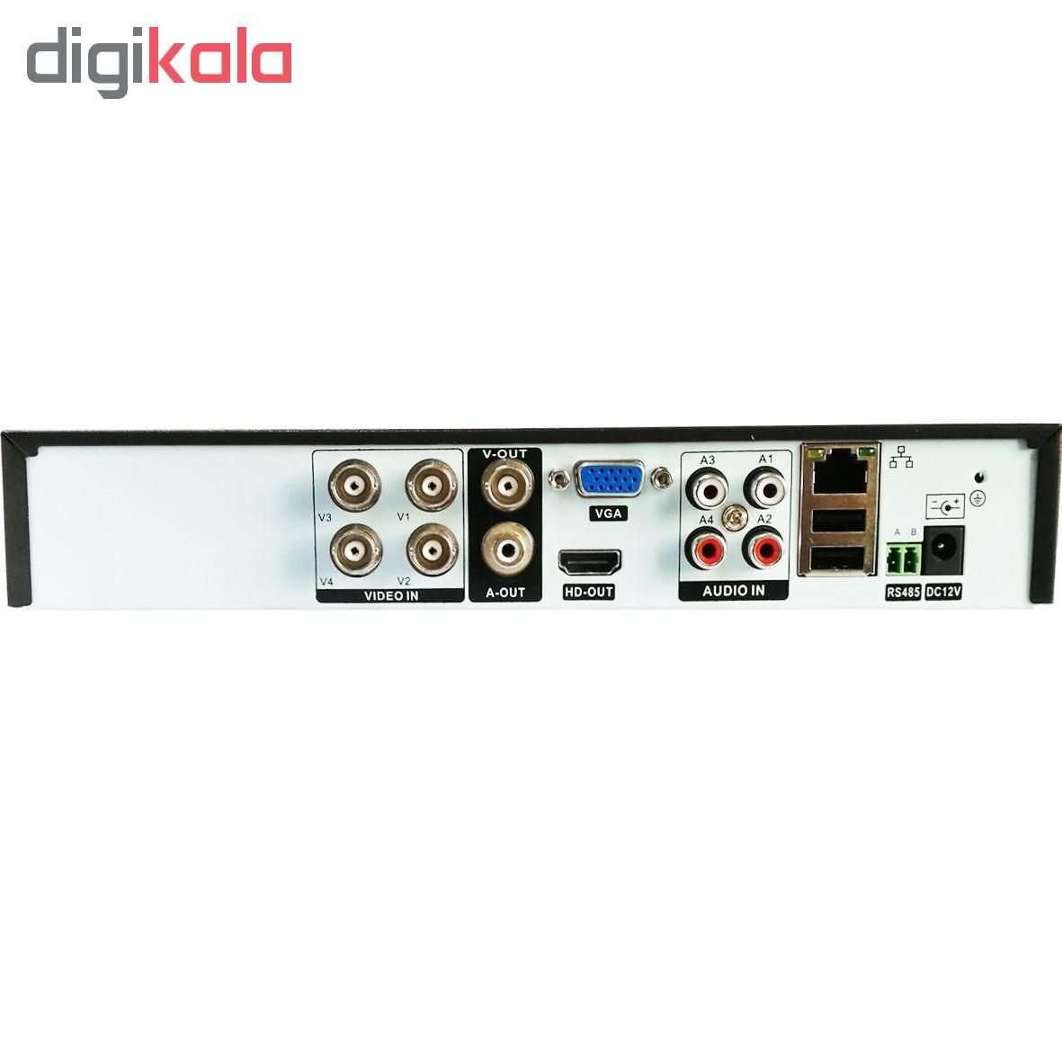 ضبط کننده ویدئویی مدل XVR4008