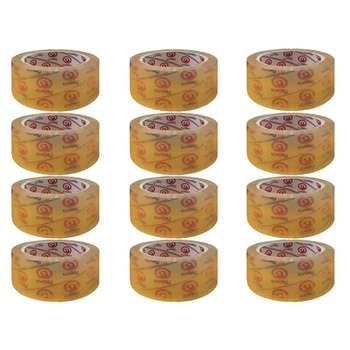 چسب نواری پاروت کد P12 عرض 5 سانتی متر بسته 12 عددی