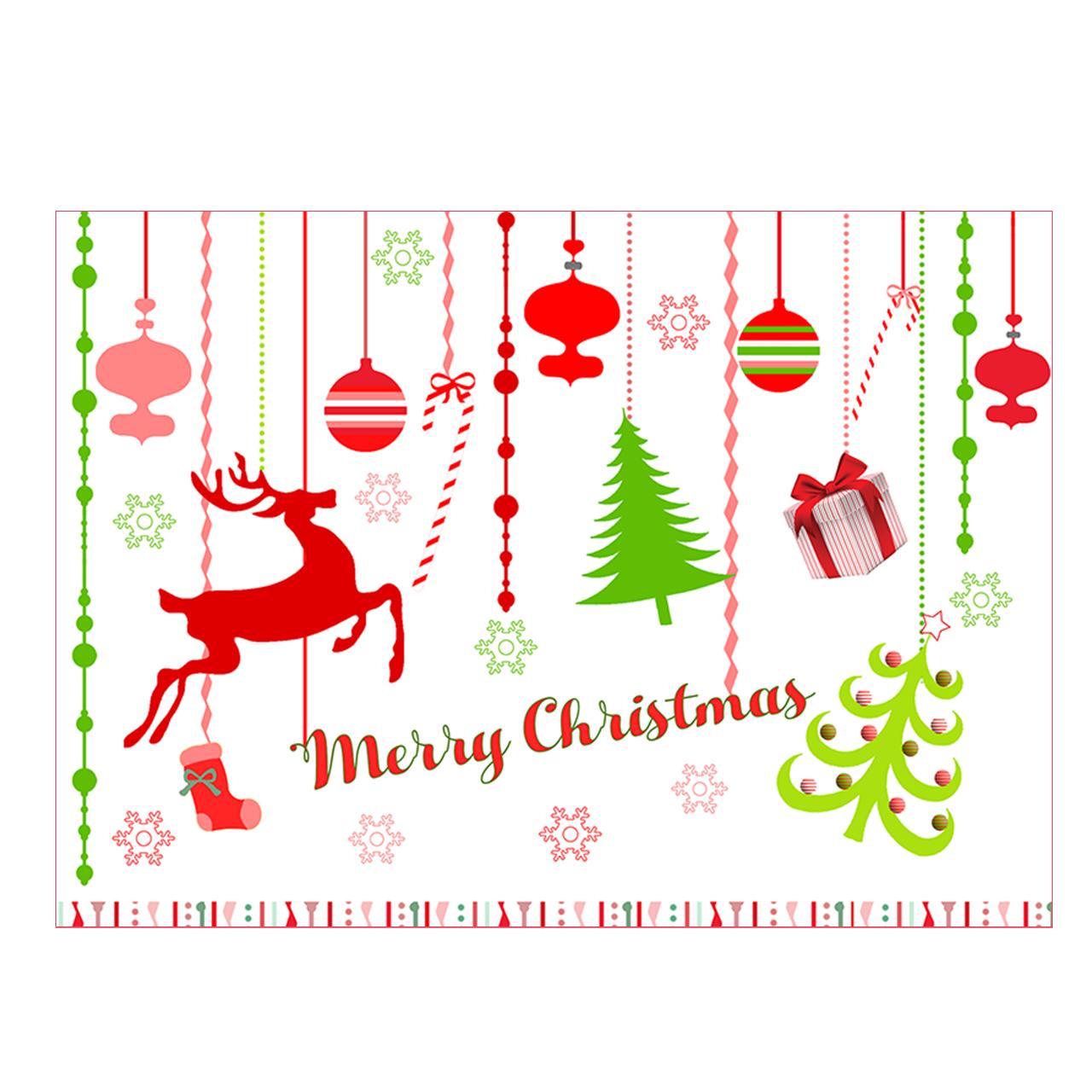 کارت پستال طرح گوزن کریسمس کد 01ccdeer