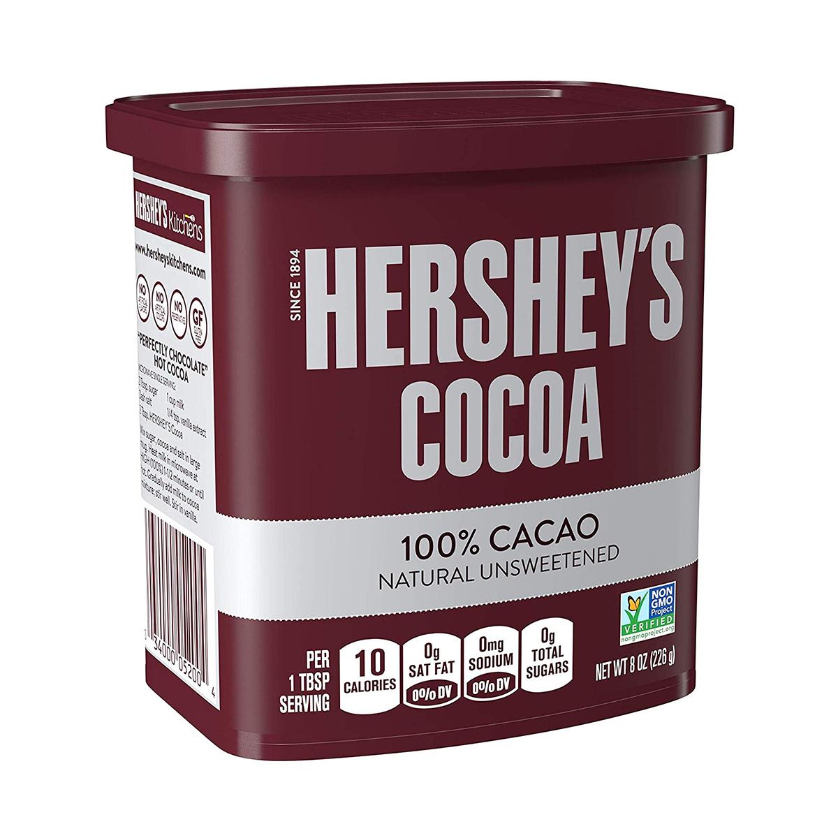 پودر کاکائو هرشیز مقدار 226 گرم