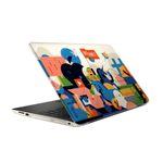 استیکر لپ تاپ طرح یونیکورن مدل TIE470 مناسب برای لپ تاپ 15.6 اینچ