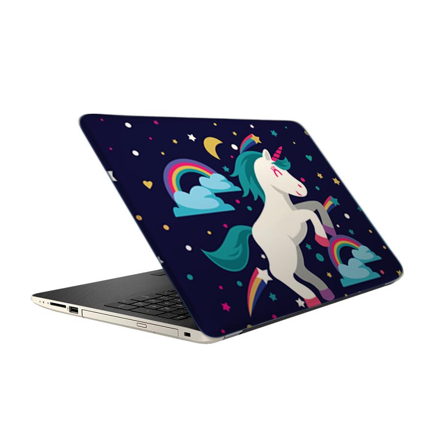 استیکر لپ تاپ طرح یونیکورن مدل TIE484 مناسب برای لپ تاپ 15.6 اینچ
