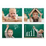 پوستر طرح کودکان کد A-1086 مجموعه 4 عددی