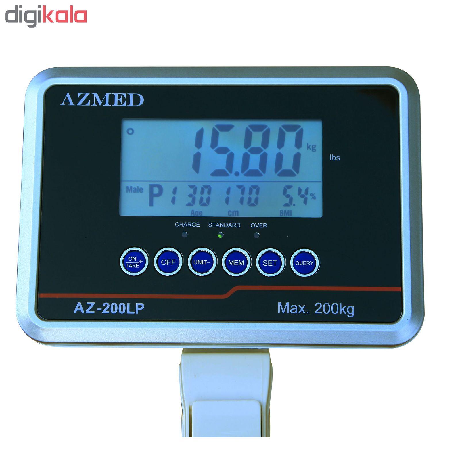ترازو قد و وزن آزمد مدل AZ 200LP main 1 3