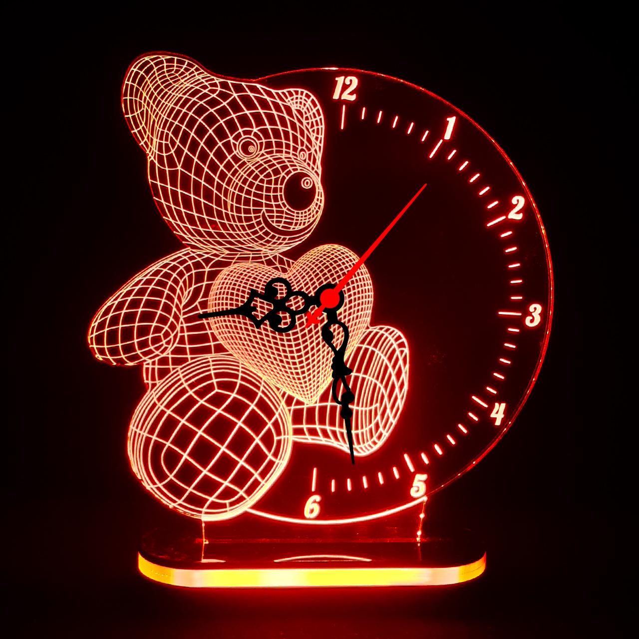 خرید                     چراغ خواب طرح خرس کد 1075
