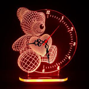 چراغ خواب طرح خرس کد 1075