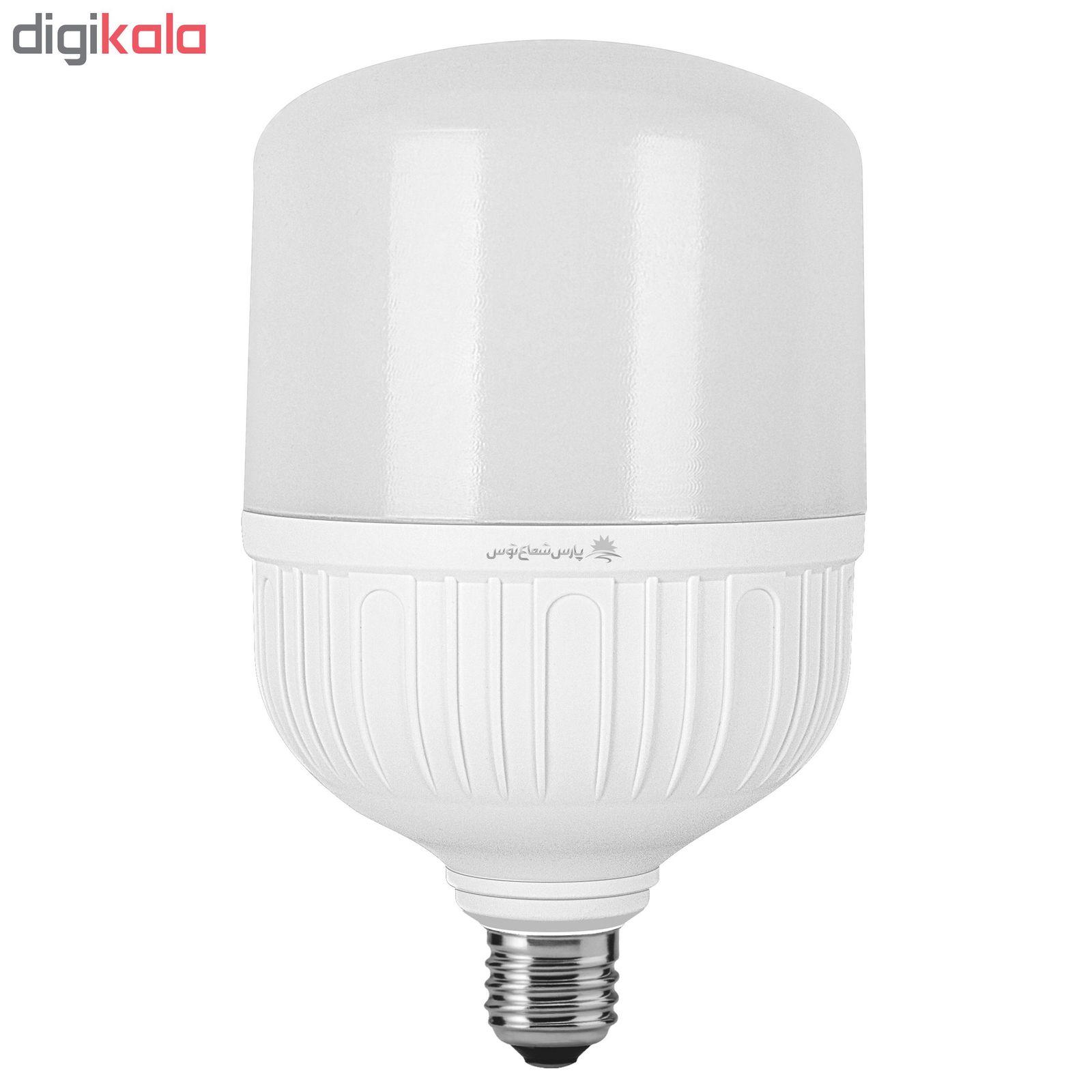 لامپ ال ای دی 40 وات پارس شعاع توس مدل CY40 پایه E27 main 1 1