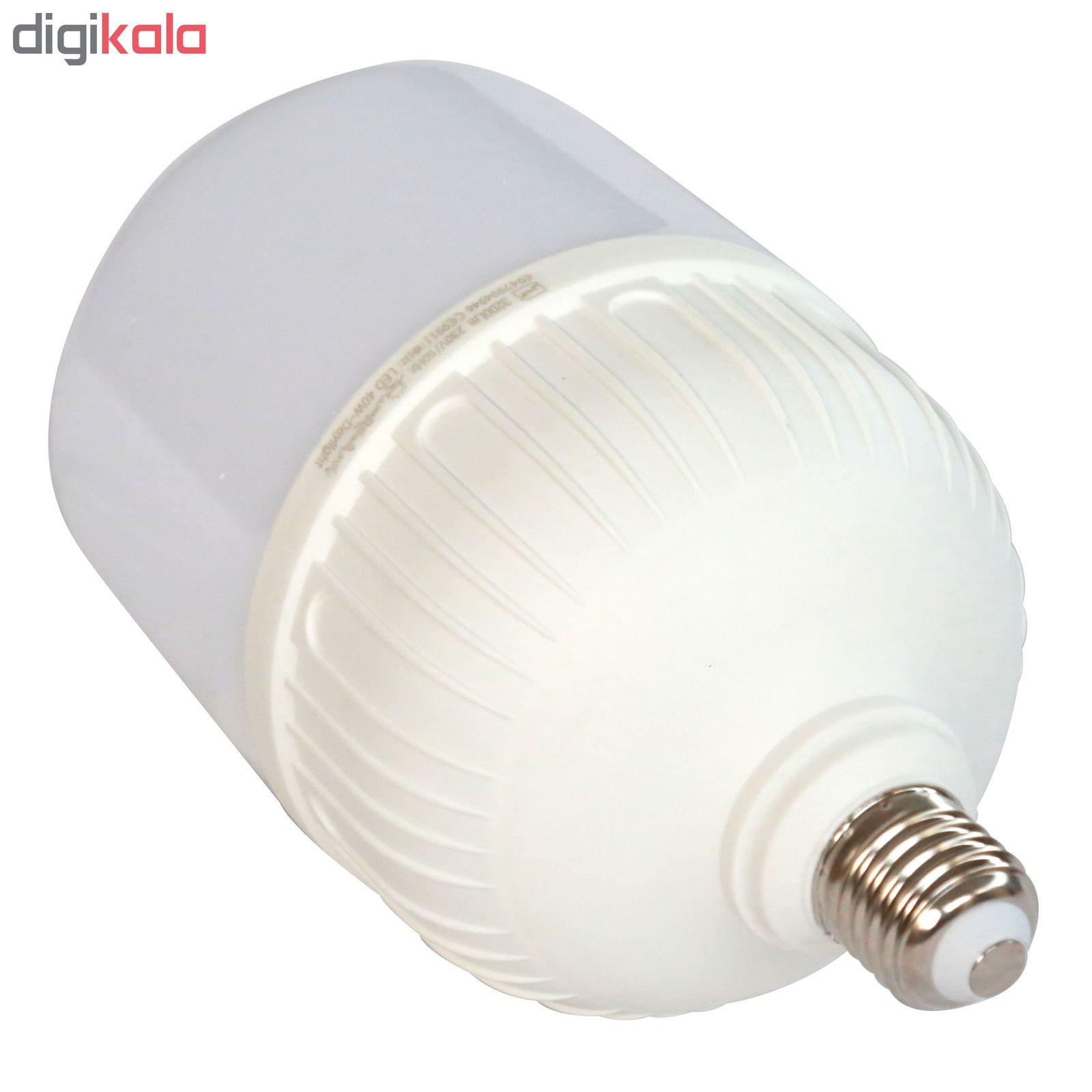 لامپ ال ای دی 40 وات پارس شعاع توس مدل CY40 پایه E27 main 1 2