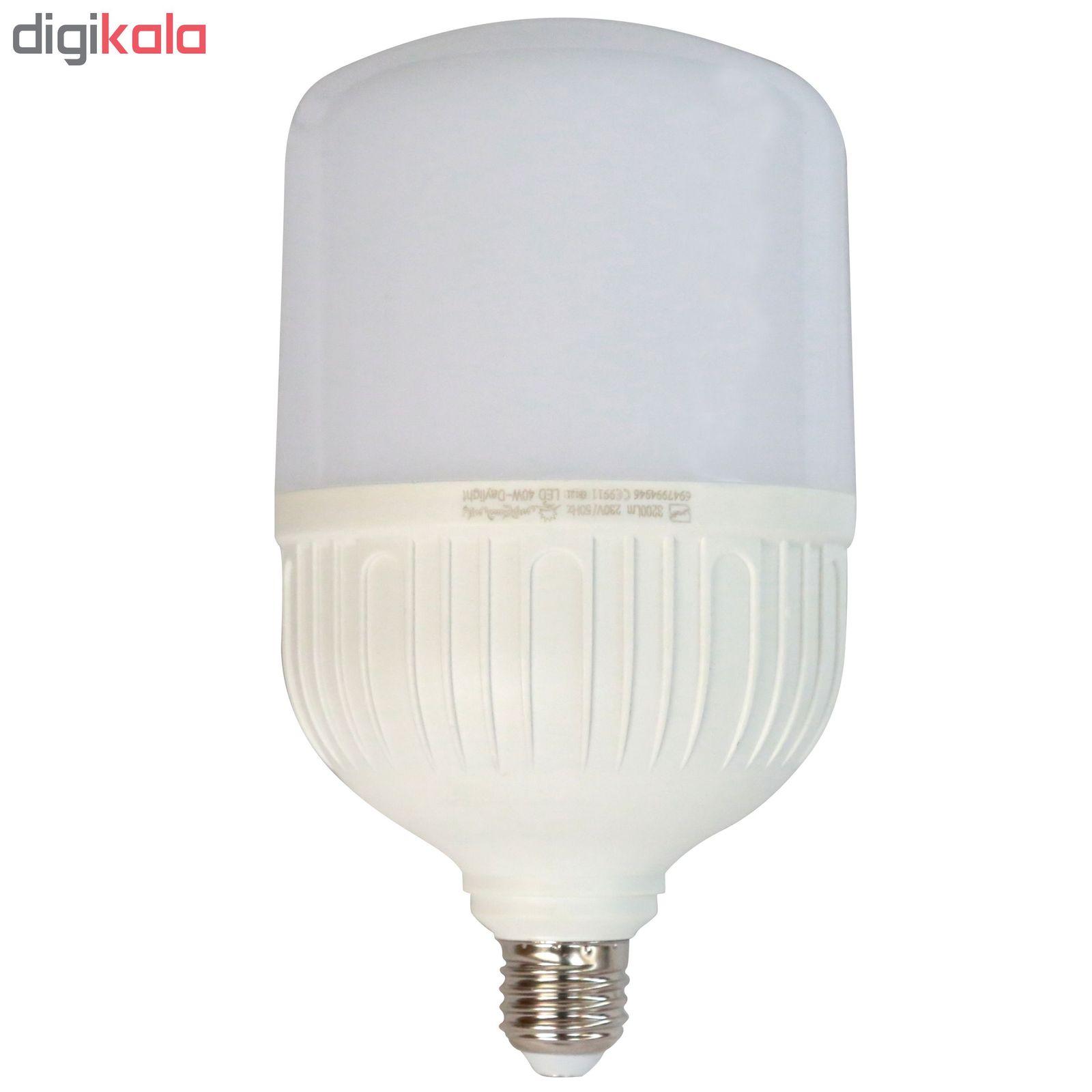 لامپ ال ای دی 40 وات پارس شعاع توس مدل CY40 پایه E27 main 1 3