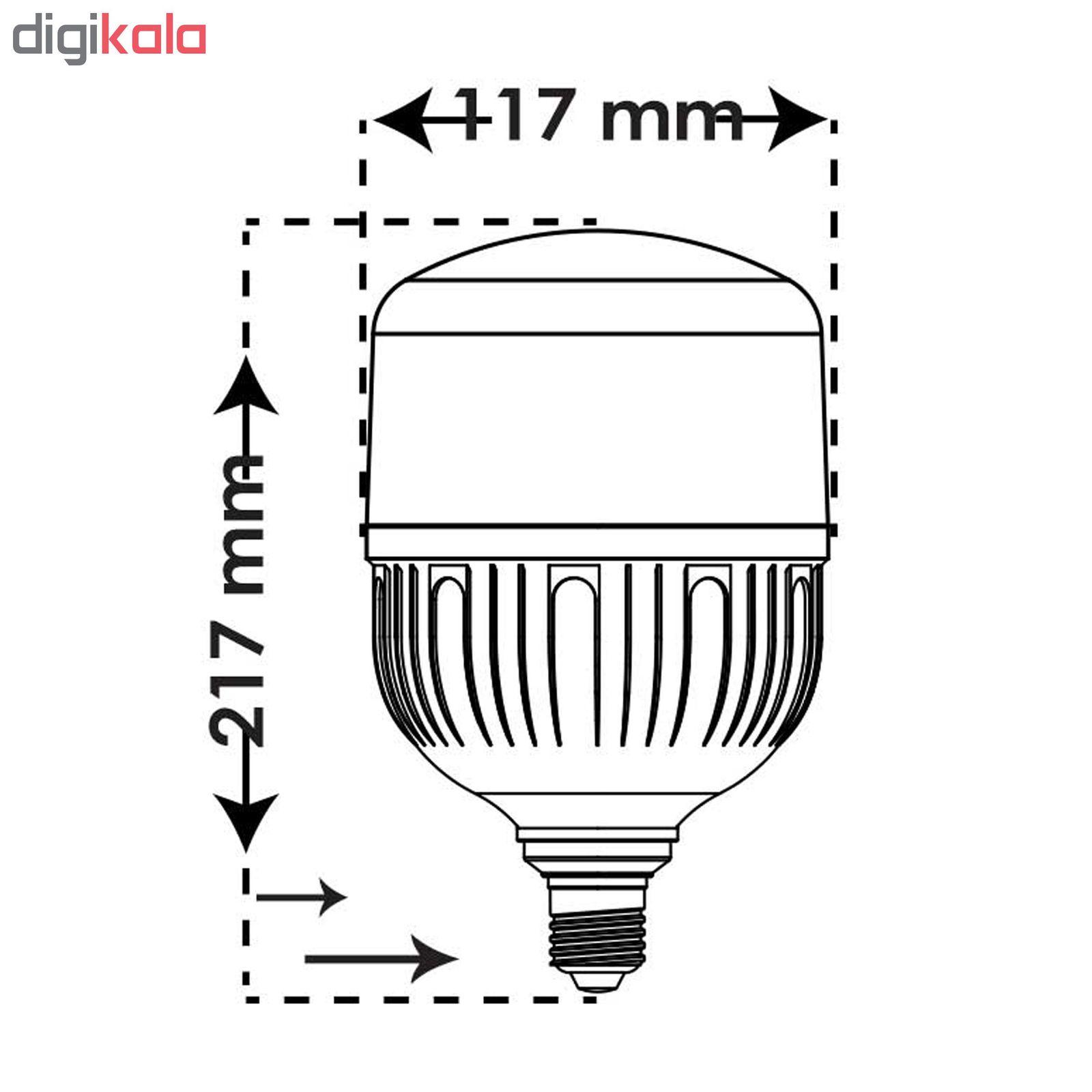 لامپ ال ای دی 40 وات پارس شعاع توس مدل CY40 پایه E27 main 1 4