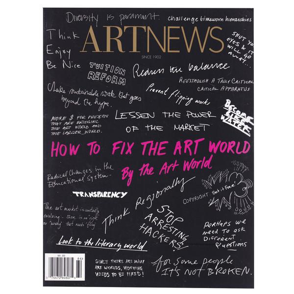 مجله Art News دسامبر 2017