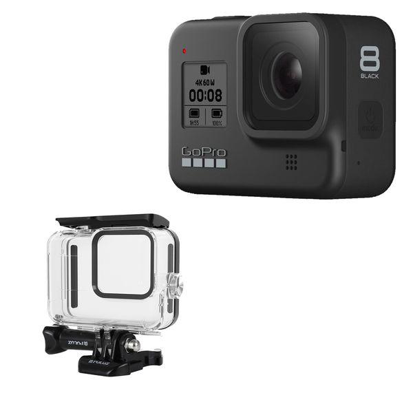 دوربین فیلم برداری ورزشی گوپرو مدل HERO8 Black به همراه کاور