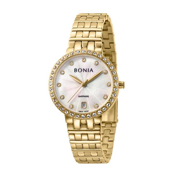 ساعت مچی عقربه ای زنانه بونیا کد BNB10392-2257S