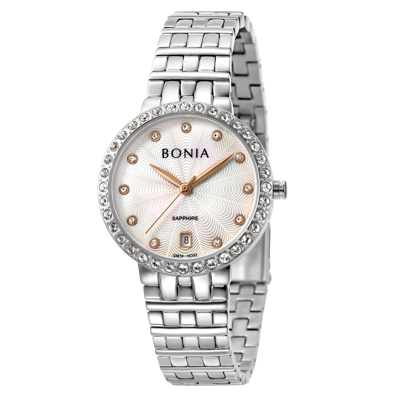 ساعت مچی عقربه ای زنانه بونیا کد BNB10392-2357S