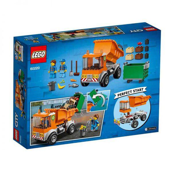 لگو سری City مدل ماشین حمل زباله کد 60220