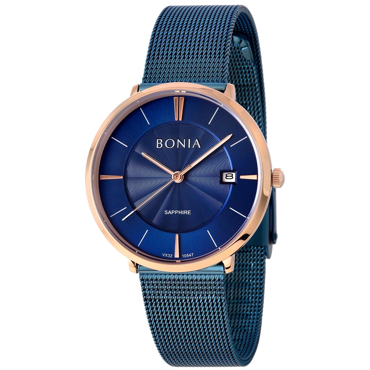 ساعت مچی عقربه ای زنانه بونیا کد BNB10547-2582