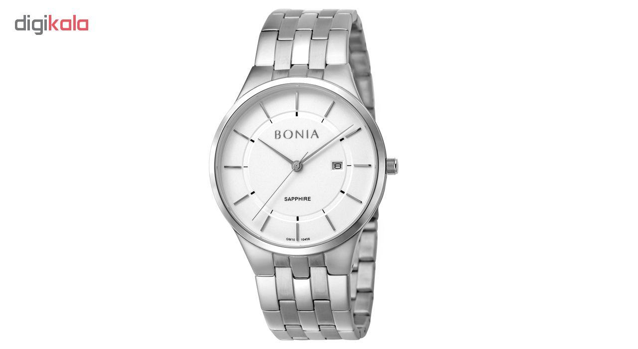 کد تخفیف                                      ساعت مچی عقربه ای مردانه بونیا کد BNB10456-1312