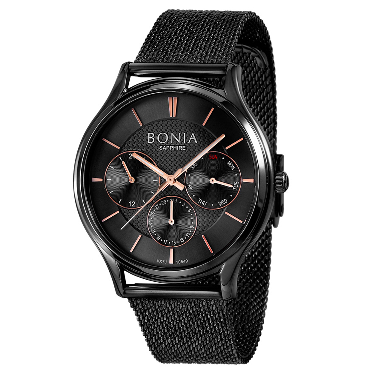 کد تخفیف                                      ساعت مچی عقربه ای مردانه بونیا کد BNB10549-1732