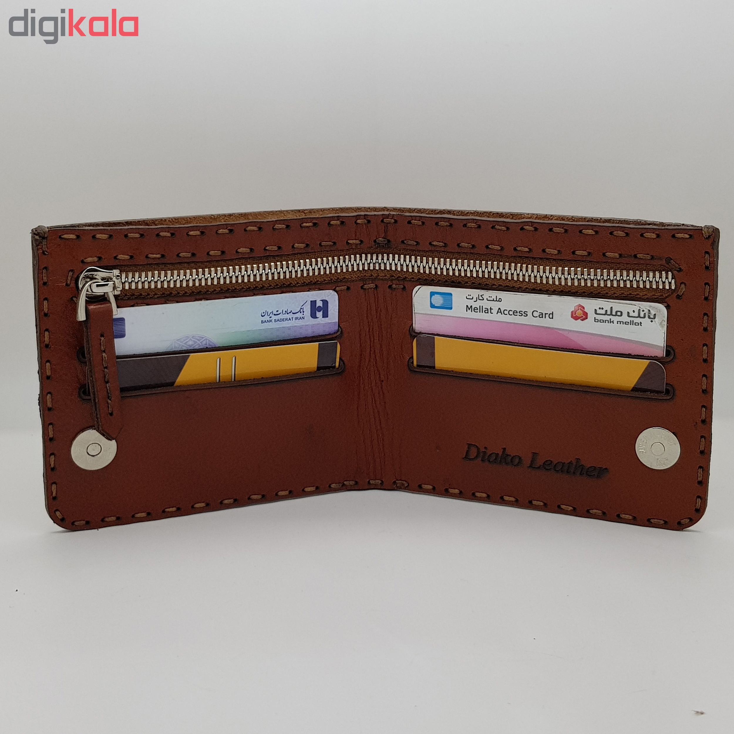 leather wallet, DIYAKO leather, model mpd100