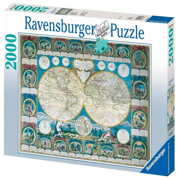 پازل 2000 تکه راونزبرگر مدل Historical Map