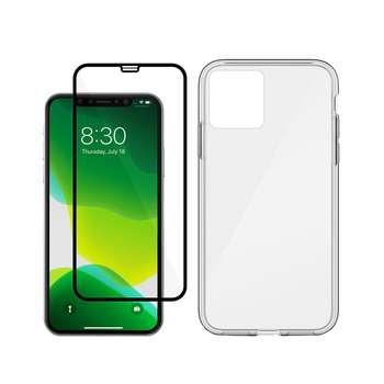 کاور مسیر مدل MBLKN-MGF-1 مناسب برای گوشی موبایل اپل Iphone 11 Pro به همراه محافظ صفحه نمایش