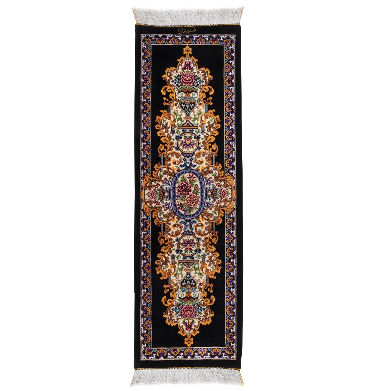 فرش دستباف رومیزی سه دهم متری سی پرشیا کد 703014