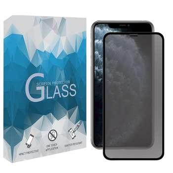 محافظ صفحه نمایش حریم شخصی مدل PGSP مناسب برای گوشی موبایل اپل iPhone 11 Pro Max