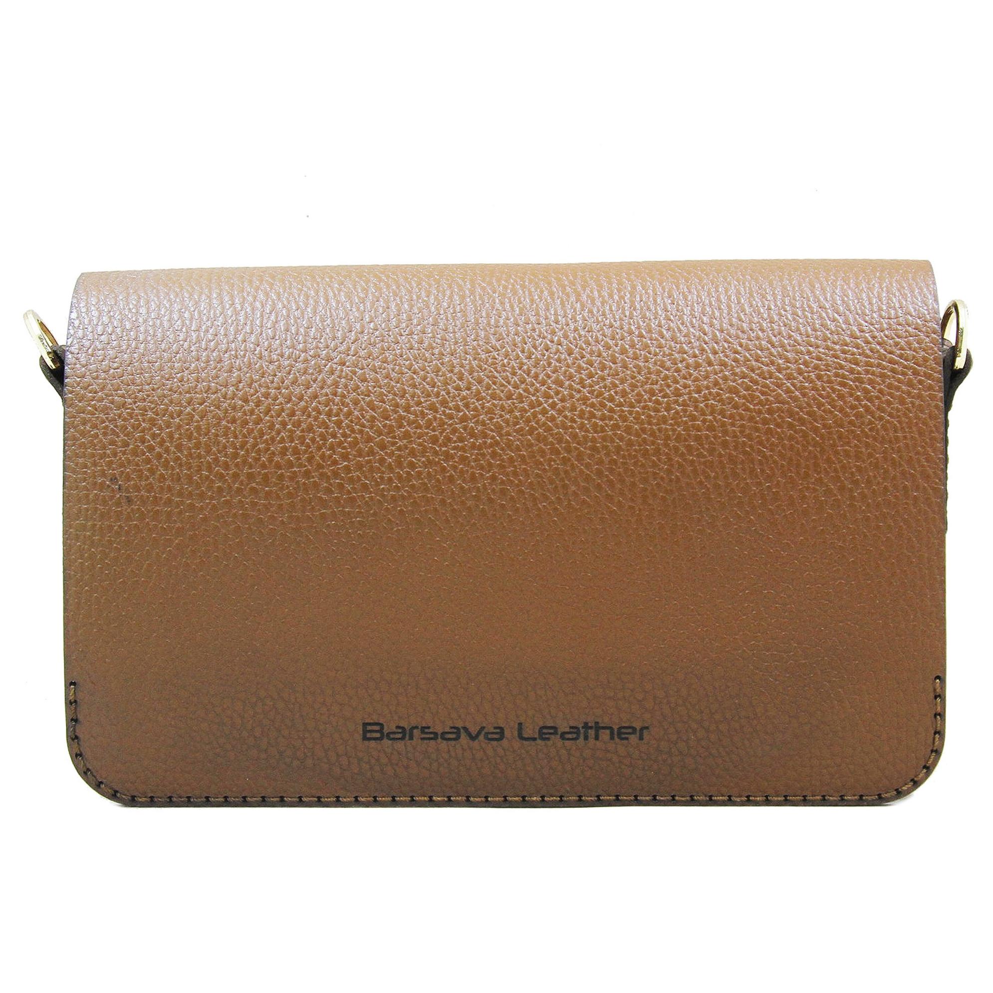 کیف دوشی زنانه چرم بارثاوا کد1255