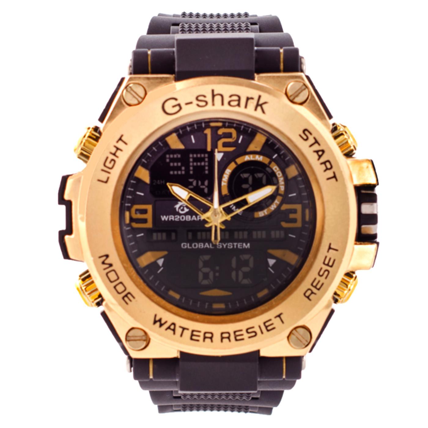 کد تخفیف                                      ساعت مچی دیجیتال مردانه جی شارک کد G-SHARK-TL