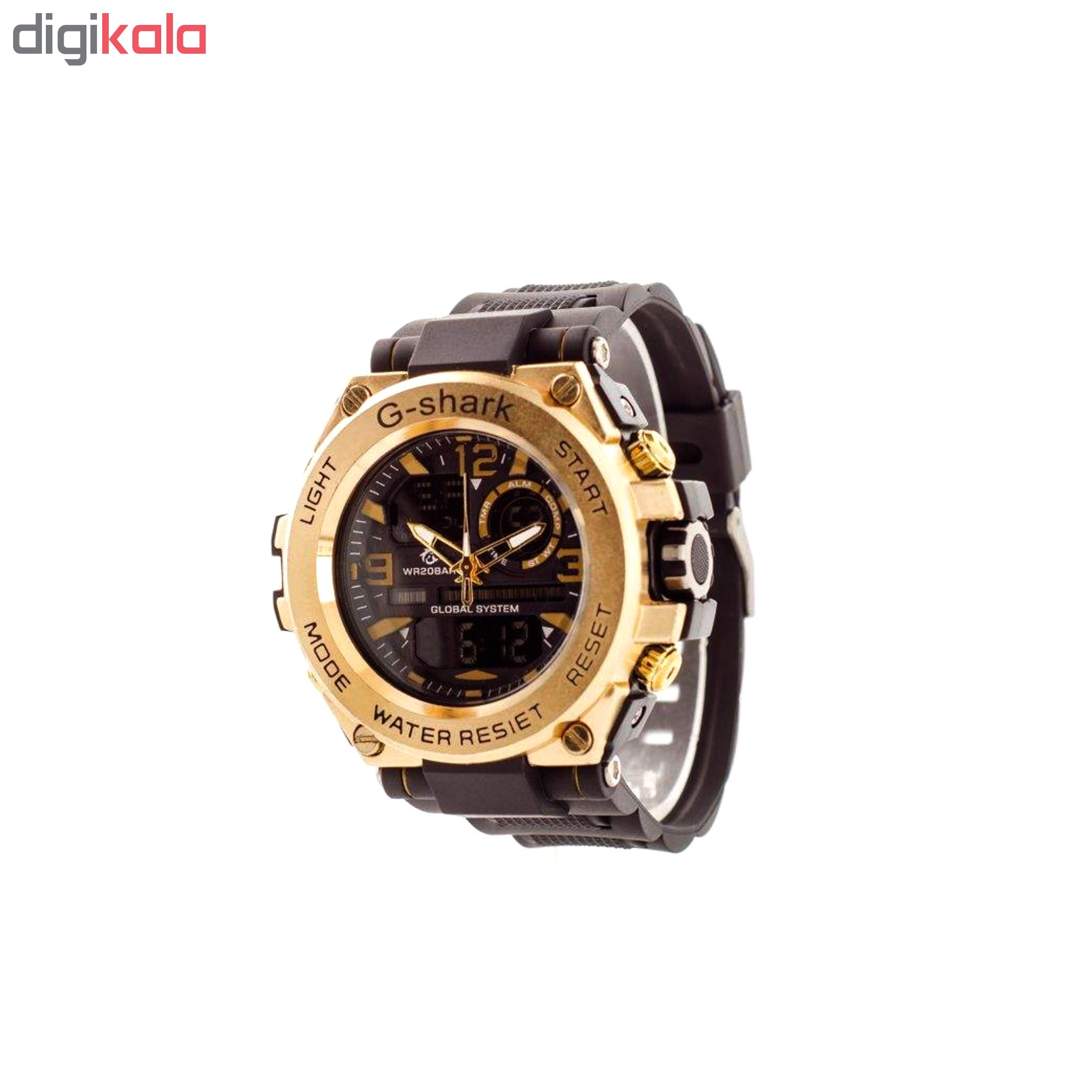 خرید اینترنتی                     ساعت مچی دیجیتال مردانه جی شارک کد G-SHARK-TL