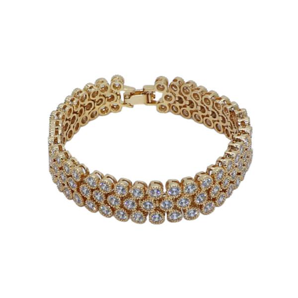 دستبند زنانه شیک کده کد dof553
