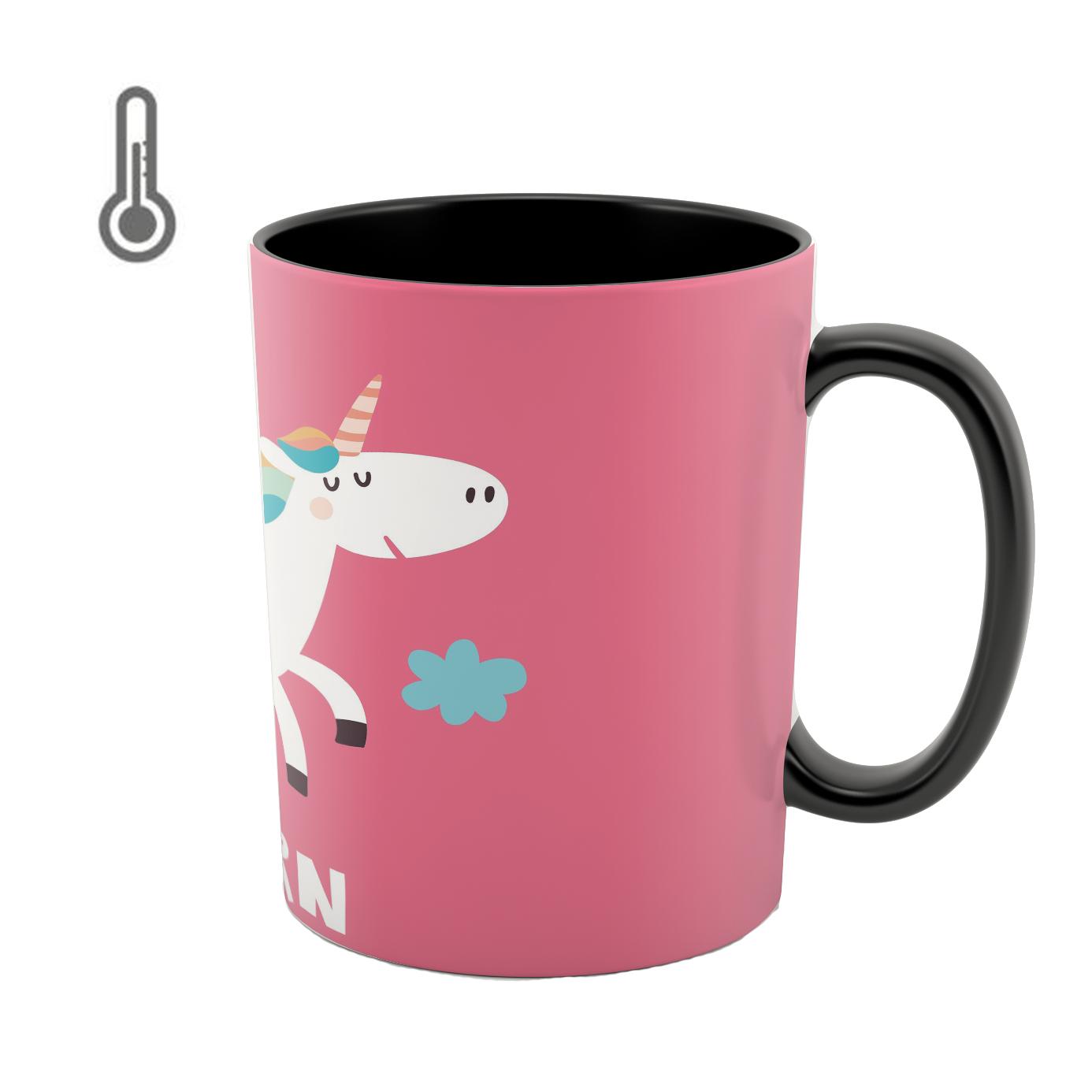 ماگ حرارتی طرح unicorn کد 02