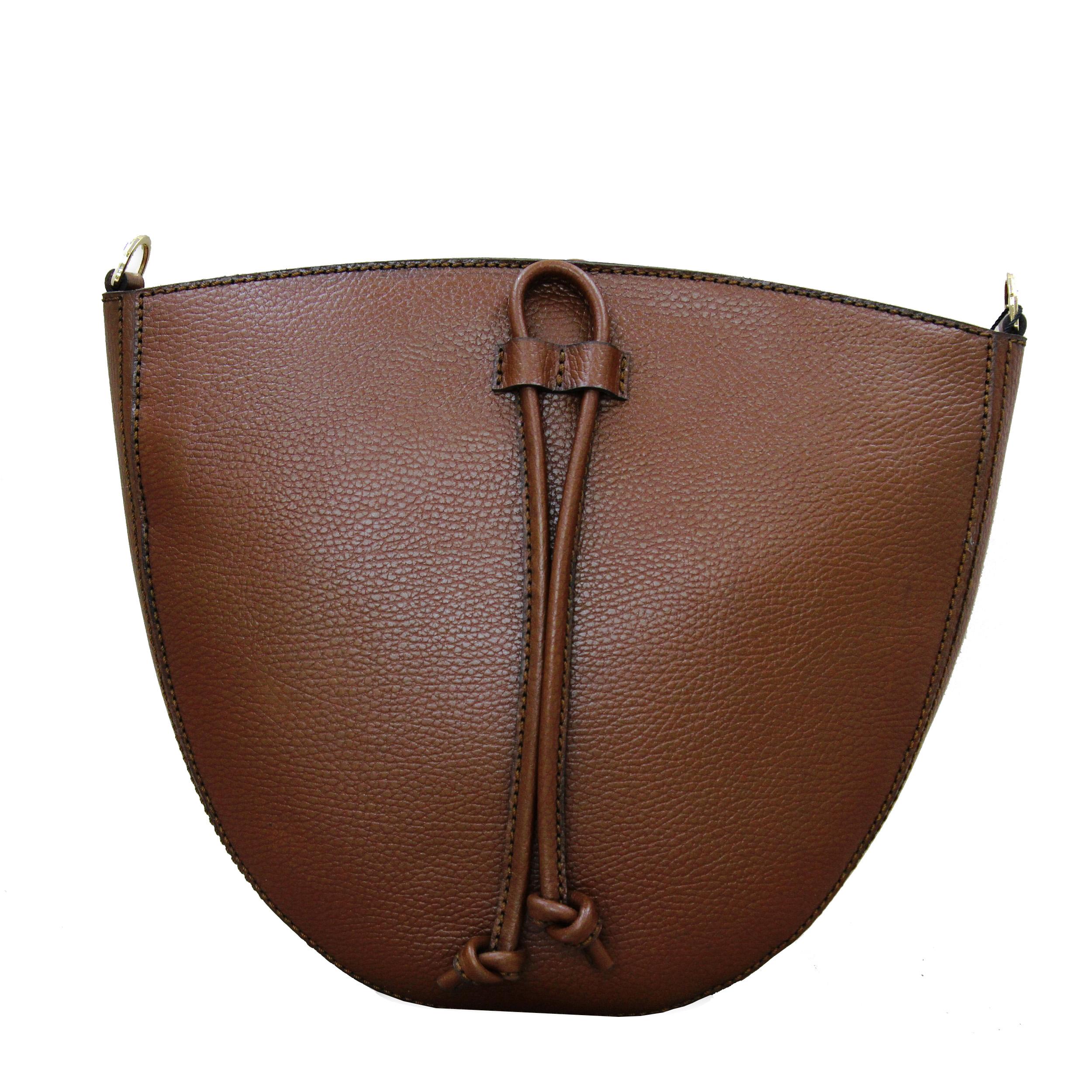 کیف دوشی زنانه چرم بارثاوا کد 1372