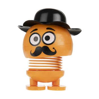 عروسک فنری طرح ایموجی کلاه دار کد M-۶۶-۶۶۶