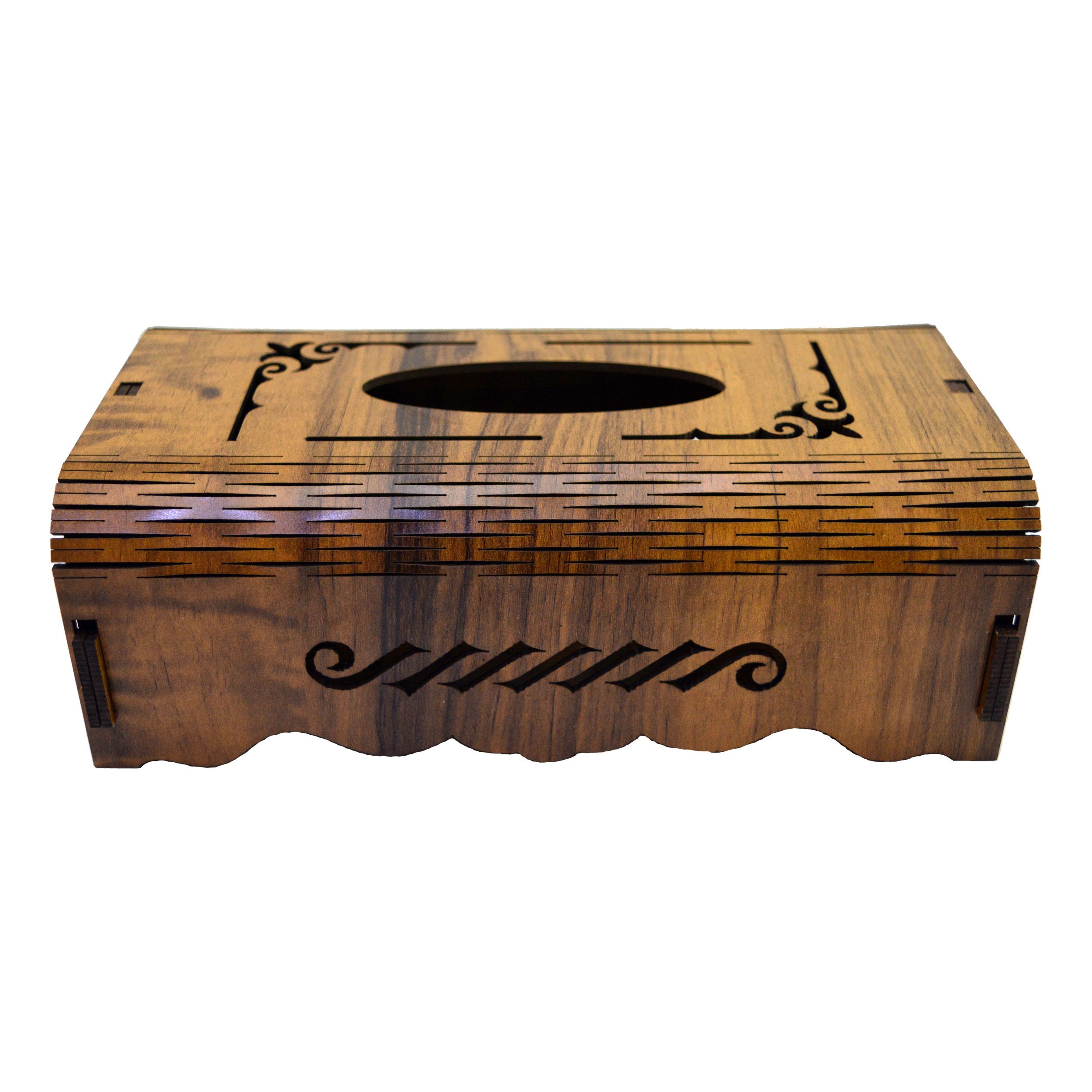 جعبه دستمال کاغذی مدل B106