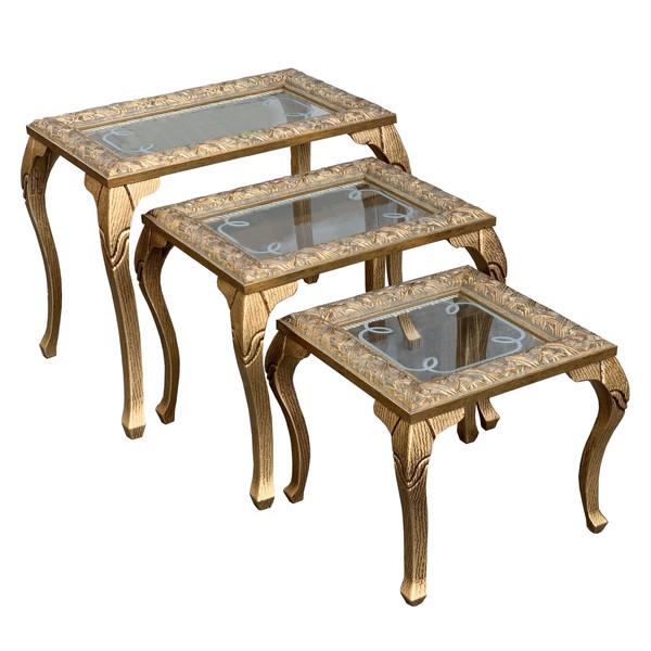 میز عسلی مدل SH001 مجموعه 3 عددی