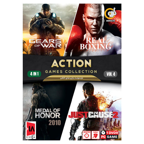 مجموعه بازی های اکشن نسخه 4 مخصوص PC نشر گردو