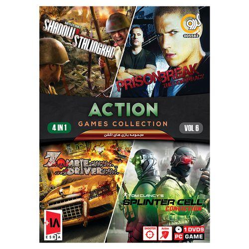 مجموعه بازی های اکشن نسخه 6 مخصوص PC نشر گردو
