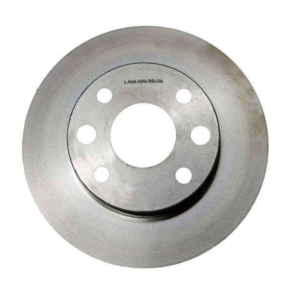 دیسک ترمز چرخ جلو شرکت تولیدی قطعات جلوبندی خودرو ایران لاهیجان کد 51712-fd200 مناسب برای ریو