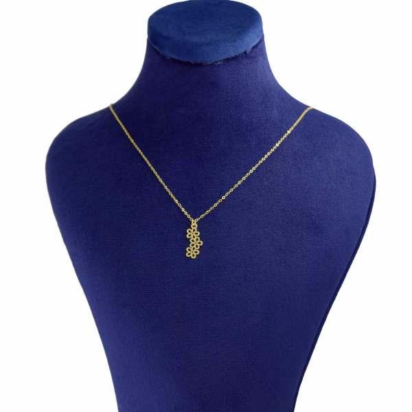 گردنبند طلا 18 عیار زنانه کانیار گالری کد GA52