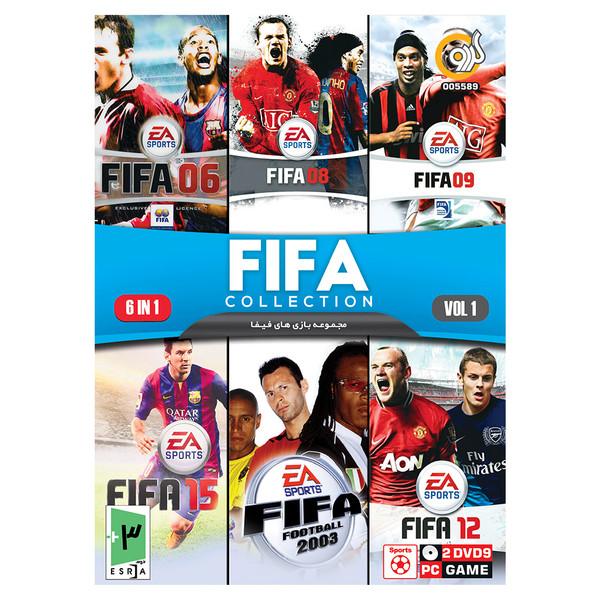مجموعه بازی های FIFA نسخه 1 مخصوص PC نشر گردو