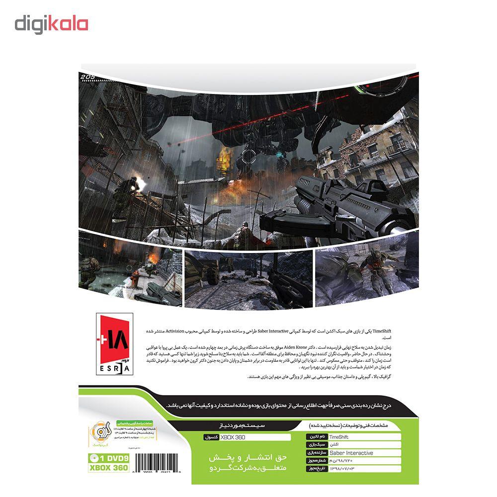 خرید اینترنتی بازی Time Shift مخصوص Xbox 360 نشر گردو اورجینال