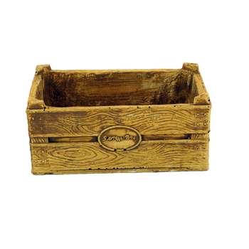 گلدان طرح جعبه چوبی کد ST3