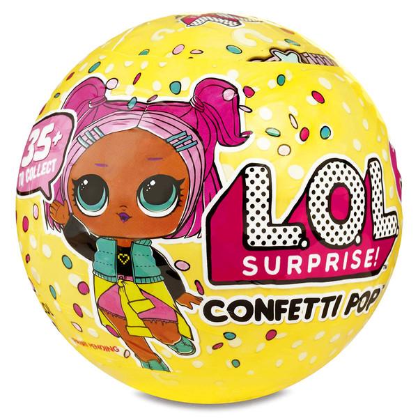 اسباب بازی شانسی ال او ال سورپرایز مدل confetti pop کد 951598