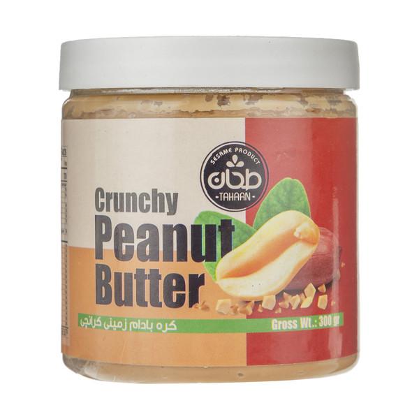 کره بادام زمینی کرانچی طحان مقدار 300 گرم
