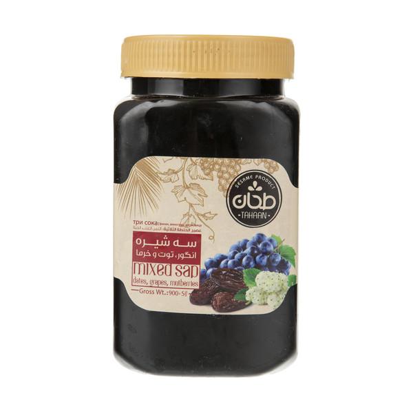 شیره مخلوط انگور ، توت و خرما طحان مقدار 850 گرم