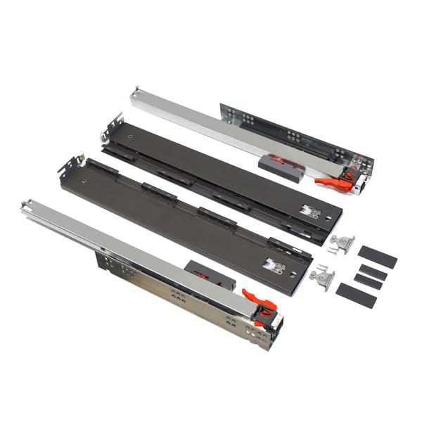 ریل کشو فشاری-آرام بند صامت مدل SmartFlow FA50H58 سایز 50 سانتیمتری بسته 2 عددی